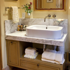 Traditional Bathroom by James Glover Residential & Interior Design