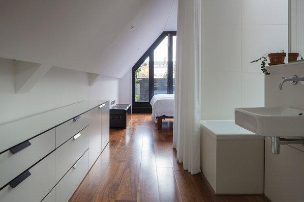 Industrial Bathroom by Kirkwood McCarthy