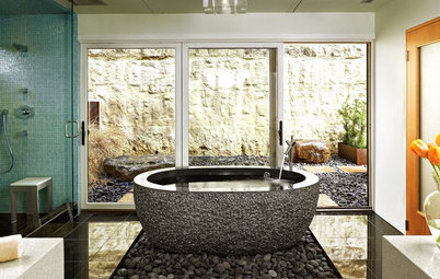 Your Bath: Create Calm With Natural Materials