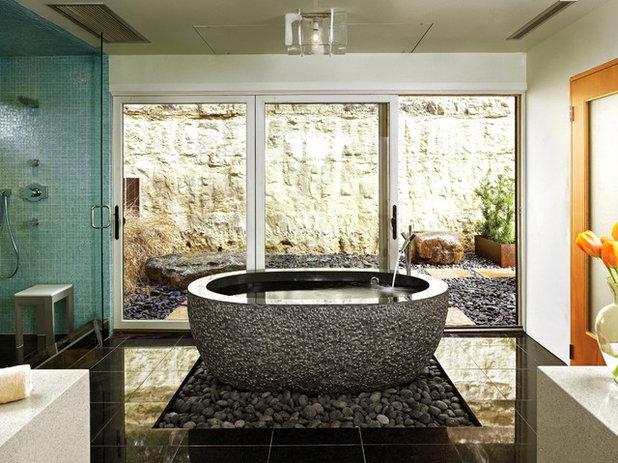 コンテンポラリー 浴室 by Winn Wittman Architecture A.I.A.