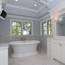 Traditional Bathroom by Heritage Luxury Builders