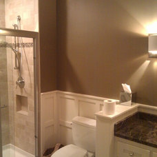 Traditional Bathroom by Built in better LLC.