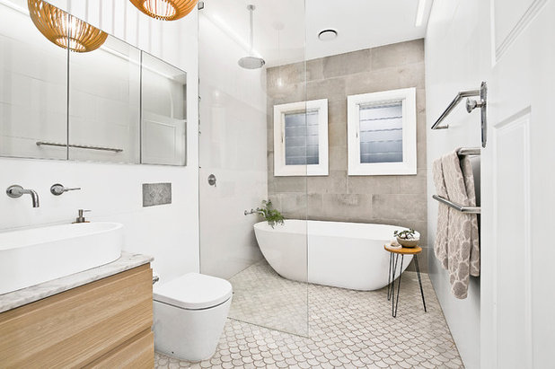 Essential Dimensions For Your Bathroom Revamp Houzz Fascinating Bathroom Dimensions