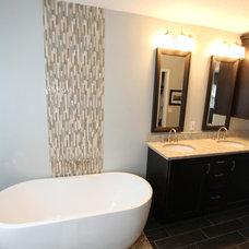 Contemporary Bathroom by Morrone Interiors