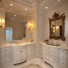 Traditional Bathroom by Busby Cabinets