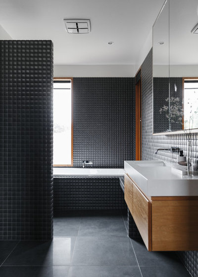Contemporary Bathroom by Mountford Williamson Architecture