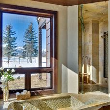 Rustic Bathroom by Environmental Dynamics, Inc.