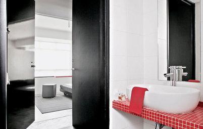 バスルーム、トイレ・洗面所が新鮮になるデザインのアイデア
