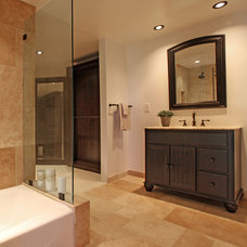 Traditional Bathroom by Bowery Interior Architecture