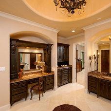 Mediterranean Bathroom by Gary Keith Jackson Design Inc