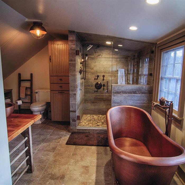 Custom Bath Remodel in Historic Home