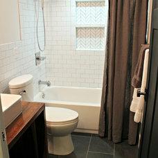 Contemporary Bathroom by Craft Art Elegant Surfaces
