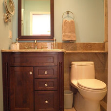 Traditional Bathroom by KraftMaster Renovations