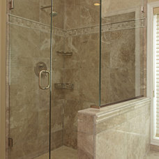 Contemporary Bathroom by Knight Construction Design | Chanhassen, Minnesota