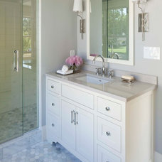 Traditional Bathroom by Elevation