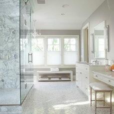 Traditional Bathroom by Elevation
