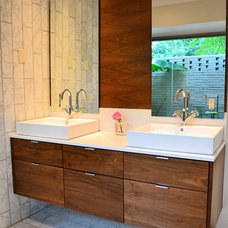 Contemporary Bathroom by Brent Swift Design