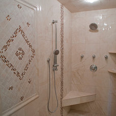 Traditional Bathroom by Elayan Construction Services
