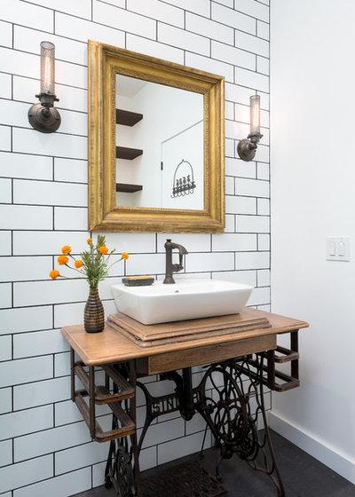 New Industrial Bathroom by Hsu McCullough