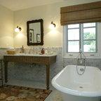 Bathroom Remodeling Woodland Hills woodland hills traditional jack and jill bathroom remodel