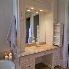 Mediterranean Bathroom by Sneller Custom Homes and Remodeling, LLC