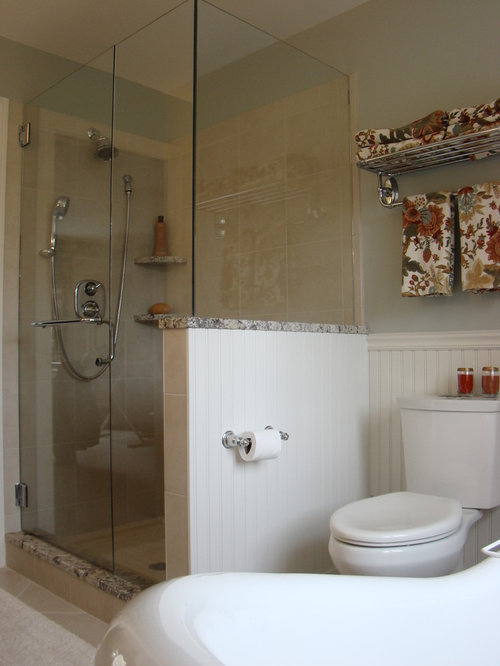 Best Shower Knee Wall Design Ideas Remodel Pictures Houzz