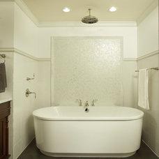 Transitional Bathroom by Martha O'Hara Interiors