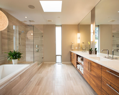 Bathroom Tiles Beige beige floor tile | houzz