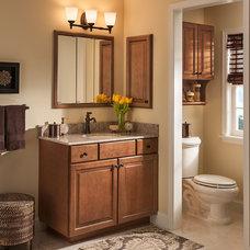 Traditional Bathroom by American Woodmark