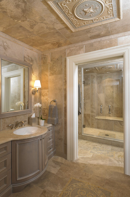 Traditional Bathroom by Woodmeister Master Builders