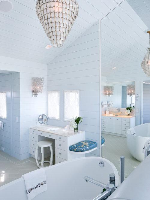 Kleine Badezimmer Mit Onyx-waschtisch Ideen & Beispiele Für Die ... Badezimmer Bord Beispiel