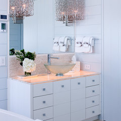 contemporary bathroom by Woodmeister Master Builders