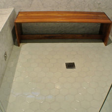 Contemporary Bathroom by Landmark Building Inc