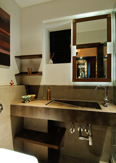 Contemporary Bathroom by The Working Ants