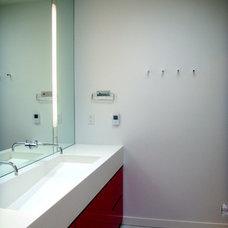 Modern Bathroom by Hulburd Design