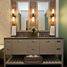 Rustic Bathroom by Fiorella Design