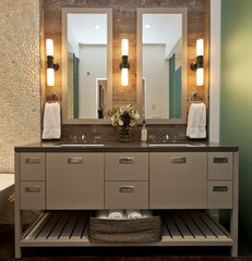 contemporary bathroom by Fiorella Design