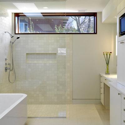 Bathroom - contemporary bathroom idea in Baltimore
