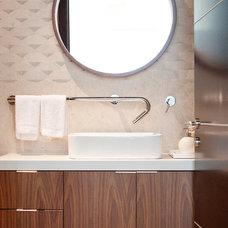 Modern Bathroom by Field Architecture
