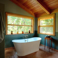 traditional bathroom by Blox Construction