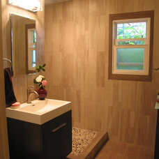 Asian Bathroom by Wagner Remodeling