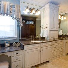Traditional Bathroom by Silver Stream Creative