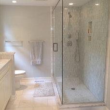 Contemporary Bathroom by Hope Restoration & General Contracting