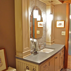Traditional Bathroom by Solutions Design & Fabrication