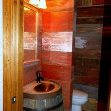 Modern Bathroom by Wright-Built