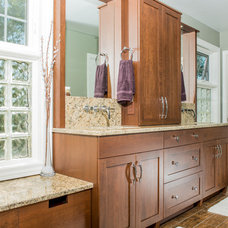 Traditional Bathroom by Brandie McCoy, CKD