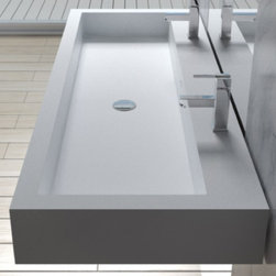 WT-06 Wall Mounted Sinks - Matte or Glossy Finish -