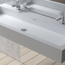 WT-06-XXL Wall Mounted Stone Resin Sinks - Matte or Glossy Finish -