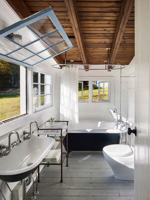 Country Bathroom Design Ideas, Renovations & Photos with ...