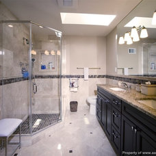 Contemporary Bathroom by A&A Design Build Remodeling, Inc.
